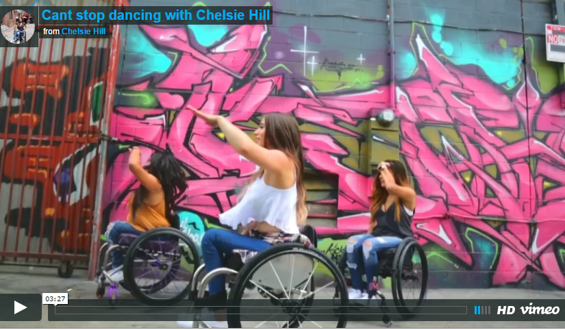 Cant stop dancing with Wheelchairs